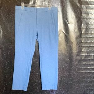 Banana Republic- Sloan Light Blue Trousers size 12